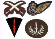 British Forces Trade Badges