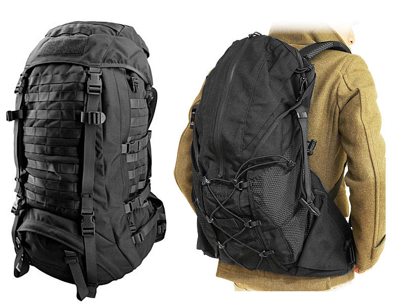 Black Rucksacks