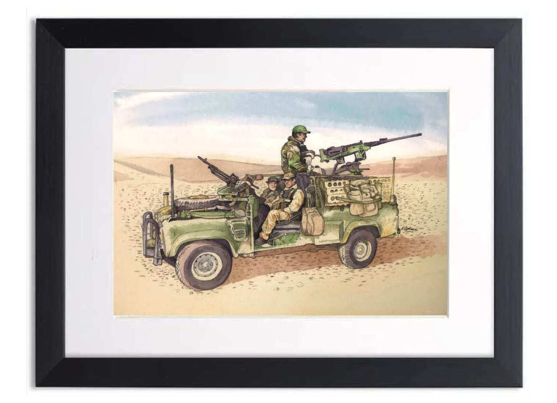 Military Art Prints