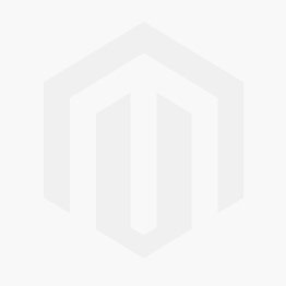 PVC velcro skull badge black