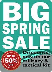 BIG Spring Military Kit Sale | Survival Aids