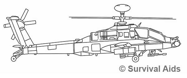Apache Helicopter Aircraft