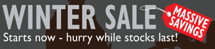 Survival Aids January Sale 2016