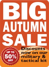 BIG Autumn Military Kit Sale | Survival Aids