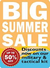 BIG Summer Military Kit Sale | Survival Aids